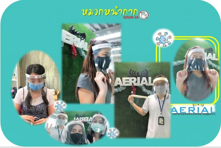 ส่งมอบ Face Shield DIY ให้กับบุคคลากรในโรงพยาบาล